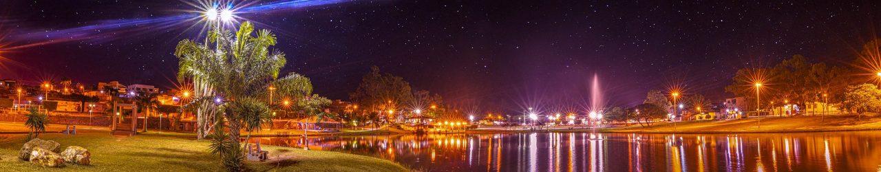 Lagoa noturno
